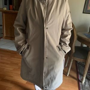 Brand new with tags Calvin Klein beige jacket